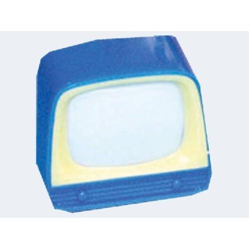 Image of   Lomme tv i plast, 6 cm