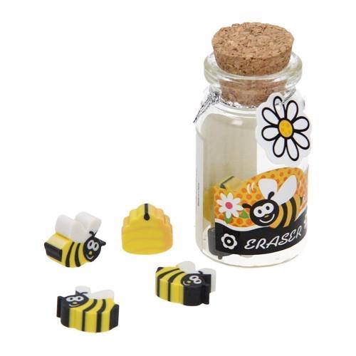 Image of   Viskelæder med bier