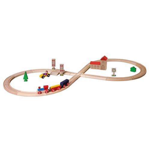 Image of Eichhorn Togbane med tilbehør, 35dlg. (4003046012620)