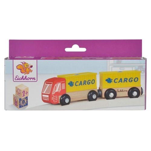 Image of Eichhorn Lastbil med trailer (4003046013672)