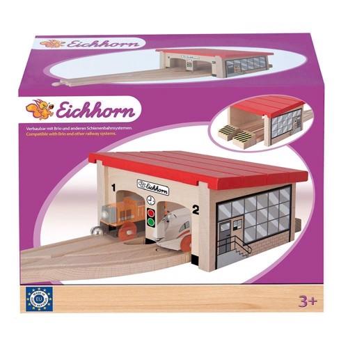 Image of Eichhorn Lokomotiv Garage, 7 dele (4003046015157)