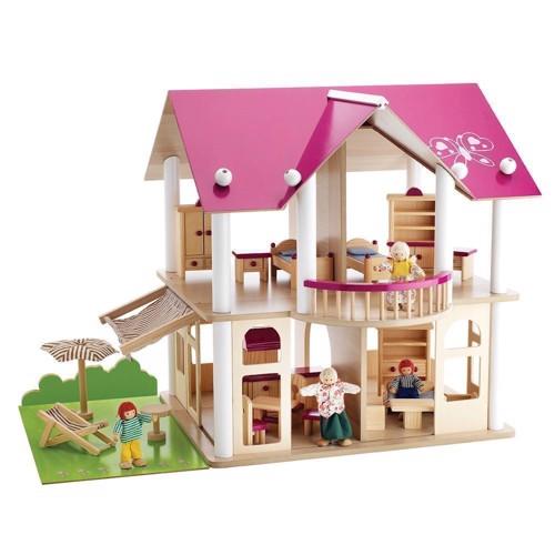 Image of   Eichhorn lyserødt dukkehus