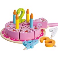 Eichhorn Wooden birthday cake, 18dlg
