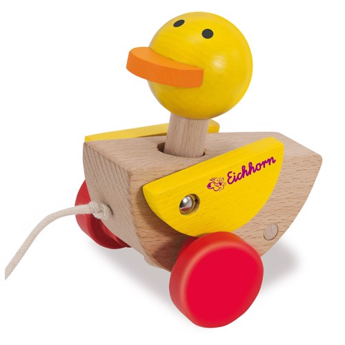 Image of   Eichhorn Pull Animal Duck