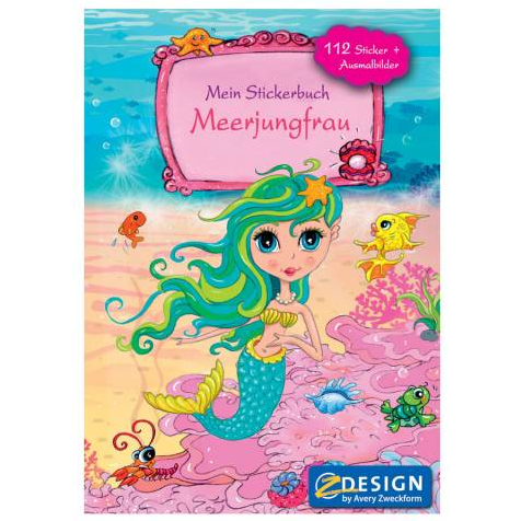 Image of   Sticker book A5 Mermaid