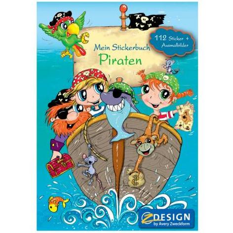 Image of   Sticker book A5 Pirat