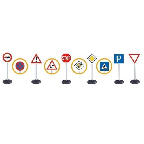 Image of BIG Trafik skilte stort sæt (4004943011983)
