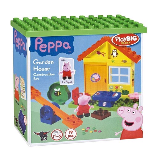 Image of PlayBIG Bloxx Peppa Pig Garden House (4004943570732)
