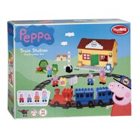 PlayBIG Bloxx Peppa Pig Train station