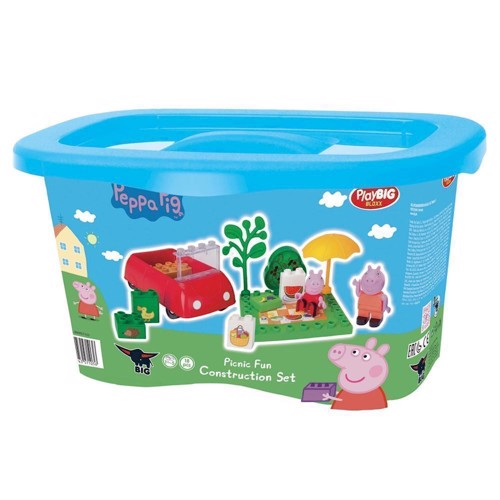 Image of PlayBIG Bloxx Peppa Pig - Picnic (4004943571036)