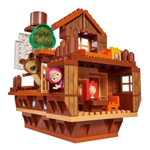 Image of PlayBIG Bloxx Masha & Bjørnen - Husbåd (4004943571074)