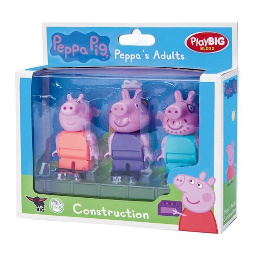 Image of PlayBIG Bloxx Peppa Pig Figures (4004943571128)