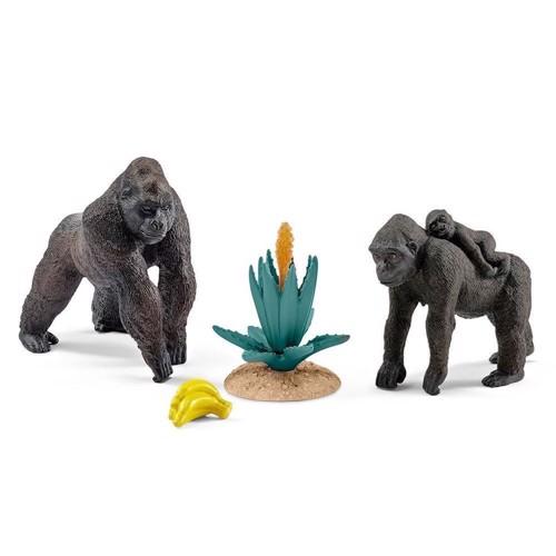 Image of Schleich Gorilla familie (4005086422766)