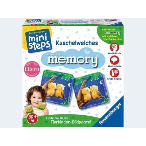 Image of Ravensburger Ministeps Cuddly Soft Memory (4005556045129)