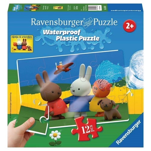 Image of Ravensburger puslespil Miffy Plastic puslespil, 12st.