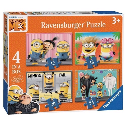 Image of   Despicable Me 3 Puzzle, 4in1