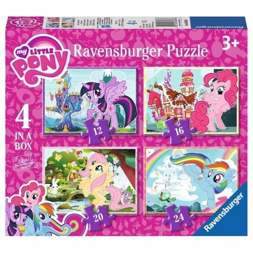 Image of Ravensburger My Little Pony puslespil, 4in1