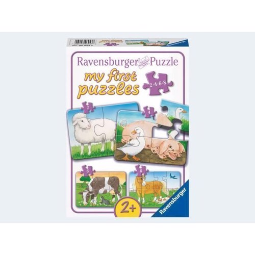 Ravensburger My first puslespil Lovable Farmers
