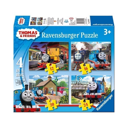 Thomas &Friends puzzle, 4 in 1