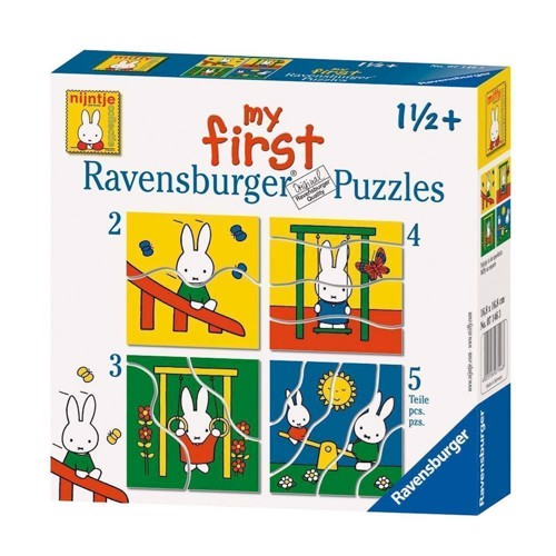 Image of Ravensburger Miffy, 4 in 1