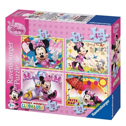 Image of Ravensburger Minnie Mouse, 4 in 1