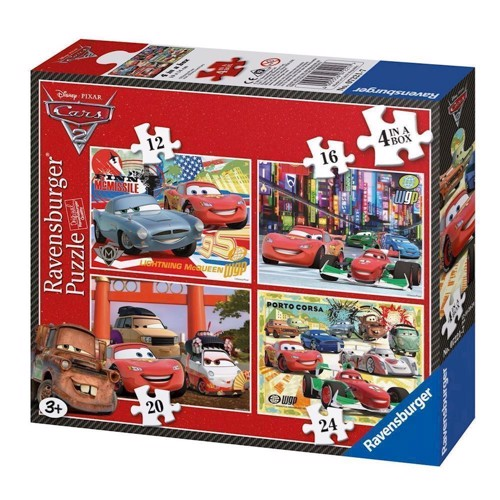 Image of   Ravensburger Cars 2, 4 in 1