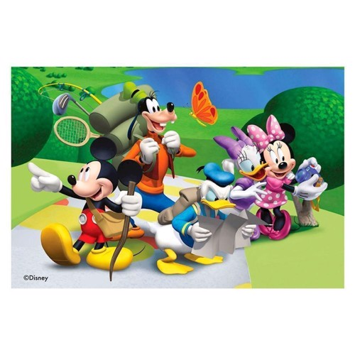 Image of   Ravensburger Block puslespil Mickey Mouse