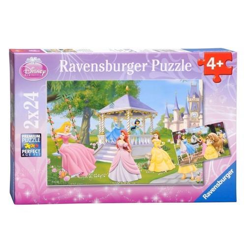 Image of Ravensburger puslespil Disney Princesses, 2x24st.
