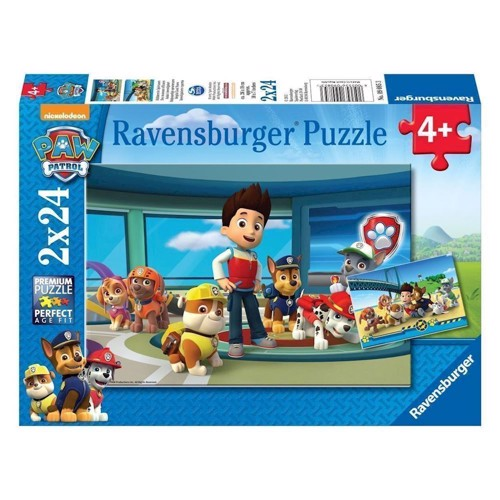 Image of Ravensburger puslespil Paw Patrol helpful great mouse detective, 2x24st.