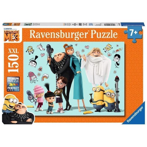 Image of Gru and his family, 150st. XXL (4005556100439)
