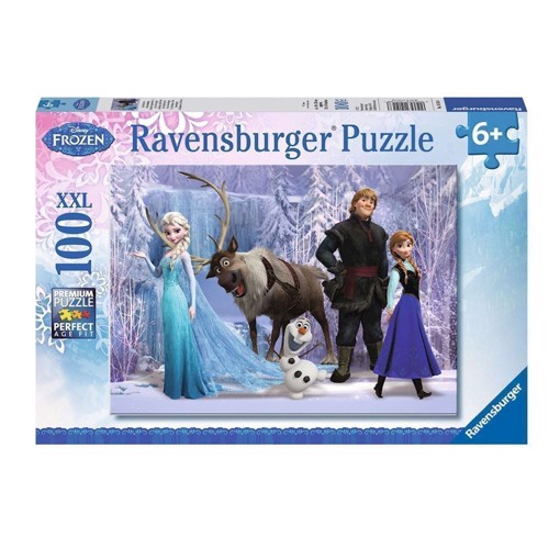 Image of Ravensburger puslespil Disney Frozen: In the realm of the snow Queen, 100pcs.