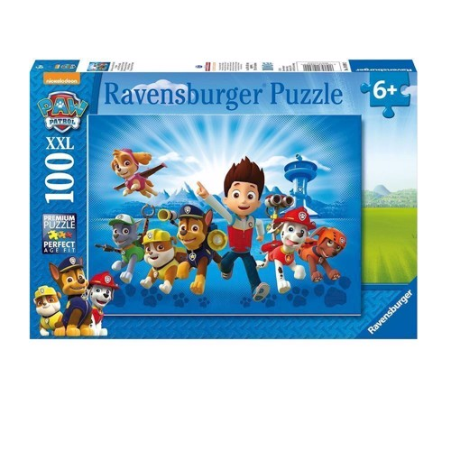 Image of Ravensburger puslespil The team of Paw Patrol, 100pcs. XXL