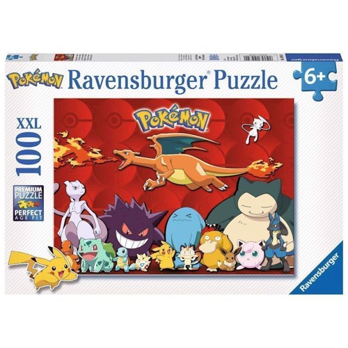 Image of   Pokemon Puzzle, 100pcs. XXL