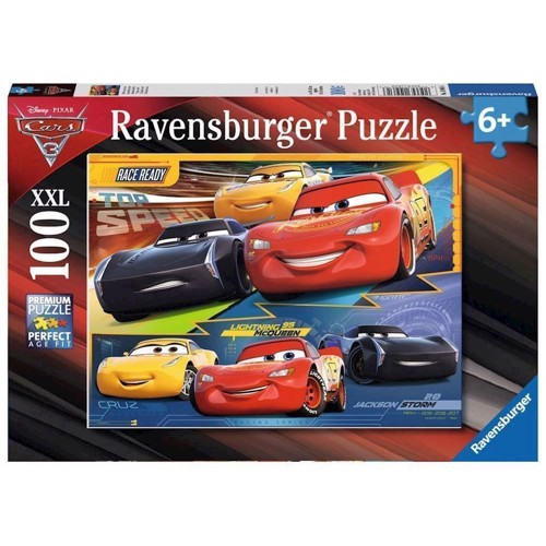 Image of   Disney Cars 3 Puzzle, 100pcs. XXL