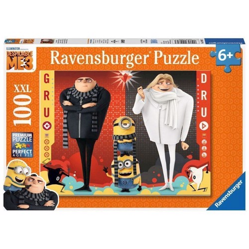 Image of   Gru, Dru and the Minions, 100pcs. XXL
