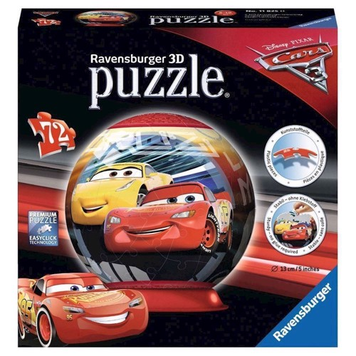 Image of Puzzle Ball Cars, 72st. (4005556118250)