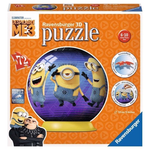 Image of   Puzzle Ball Despicable Me 3, 72st.