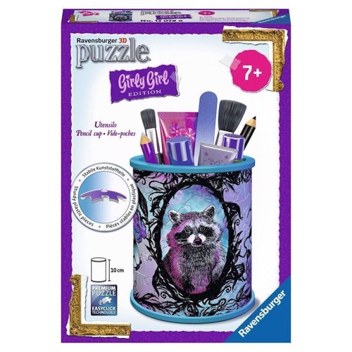 Image of   Ravensburger Girly Girl 3D puslespil Animal-pencil holder