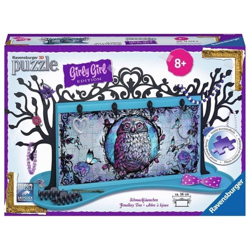 Image of   Ravensburger Girly Girl 3D puslespil Gallery - Jewelry Tree