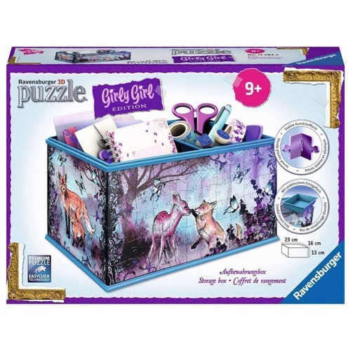 Image of   Ravensburger Girly Girl 3D puslespil Animal - Storage box