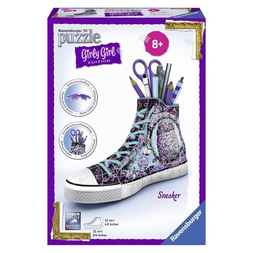 Image of   Ravensburger Girly Girl 3D puslespil-Sneaker