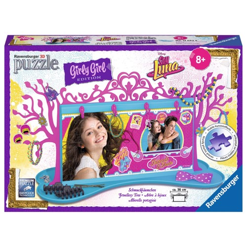 Image of   Ravensburger Girly Girl 3D puslespil Soy Luna-Jewelry tree