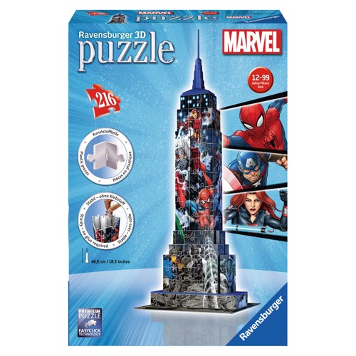 Image of   Ravensburger 3D Puzzle Empire State Building Avengers