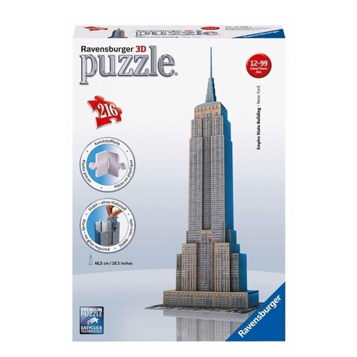 Image of   Ravensburger 3D puslespil Empire State building
