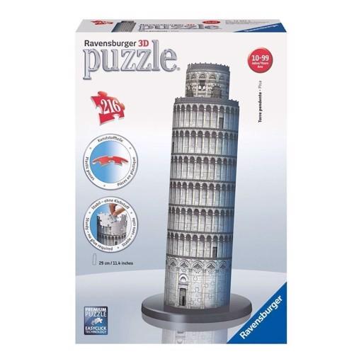Image of Ravensburger 3D Puslespil, Det skæve tårn i Pisa (4005556125579)