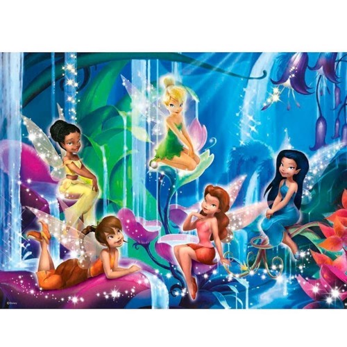 Image of Ravensburger puslespil Land of the Fairies, 200st. XXL (4005556127771)