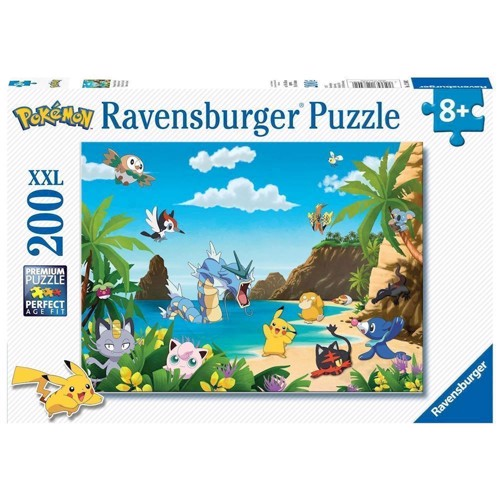 Image of   Pokemon Puzzle, 200pcs. XXL