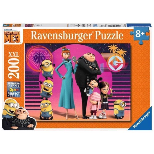 Image of   Despicable Me 3 Puzzle, 200pcs. XXL
