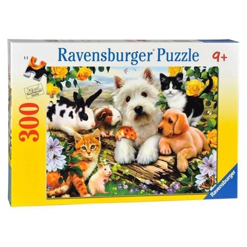 Image of Ravensburger puslespil Animal friends, 300st.
