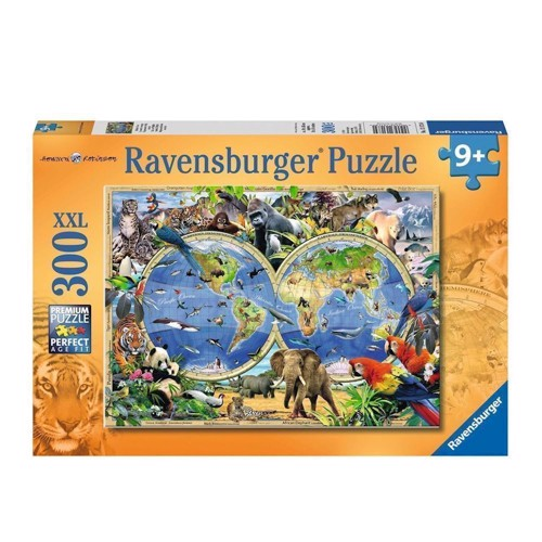Image of Ravensburger puslespil World of Wildlife, 300st.